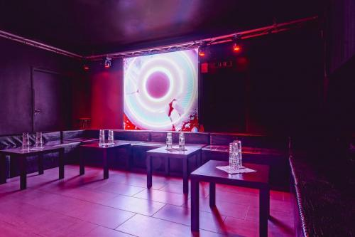 VIP Bereich Bühne